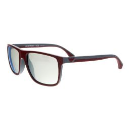 Emporio Armani Burgundy/Blue Rectangle EA4033 56166G Sunglasses