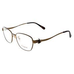 Coach Dark Brown/Dark Tortoise Rectangle HC5086 9298 Eyeglasses