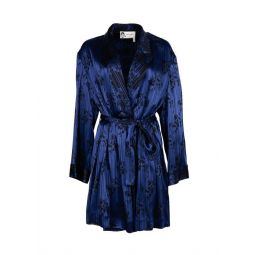 Lanvin Womens Patterned Belted Robe