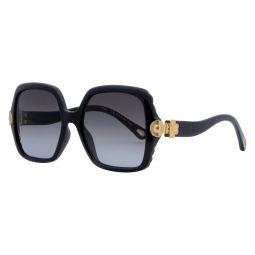 Chloe Sqaure Sunglasses CE746S Black 55mm 746