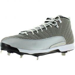 Jordan Mens XII Retro Metal Baseball Sneakers Cleats