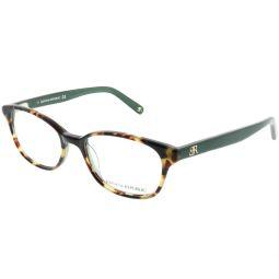 BP Coleen JZW 49mm Unisex Rectangle Eyeglasses