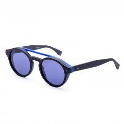 Fendi Mens Fashion FF-M0017-S-0807-KU 51mm Black Frame Sunglasses
