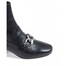Michael Kors Womens Ankle Boot Black VANESSA