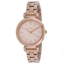 DKNY Womens Ellington Rose Gold dial watch - NY2584