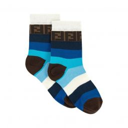 Pair of stripe print socks