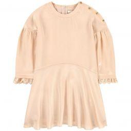 Mini Me silk dress