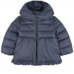 Odile winter jacket with feather and down padding