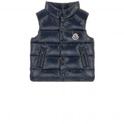 Bernard sleeveless winter jacket with feather and down padding
