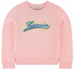 Logo organic cotton sweatshirt