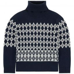 Mini me roll-necked sweater
