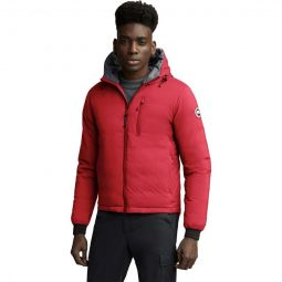 Lodge Matte Finish Down Hooded Jacket - Mens