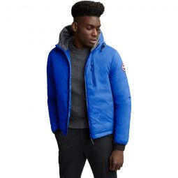 Polar Bears Intl Lodge Matte Finish Hooded Down Jacket-Mens