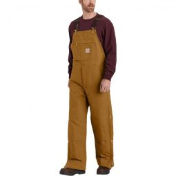 Firm Duck Insulated Bib Overall - Mens