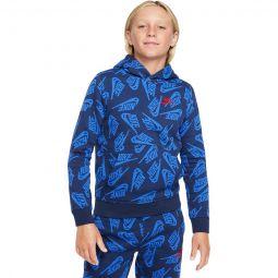 Sportswear AOP Pullover Hoodie - Boys
