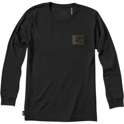 Off The Wall Classic Outlined Long-Sleeve T-Shirt - Mens