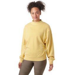 Washed Freestyle Sweatshirt - Womens
