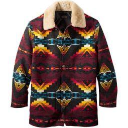 Brownsville Shearling Collar Coat - Mens