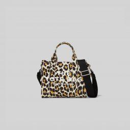 The Leopard Mini Traveler Tote Bag