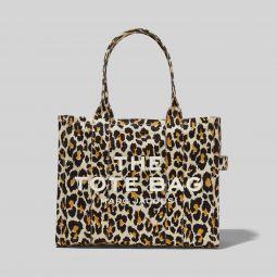 The Leopard Traveler Tote Bag