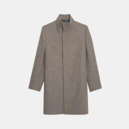 Belvin Coat in Recycled Melton