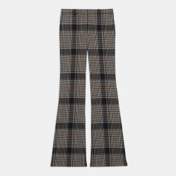 Demitria Pant in Plaid Wool