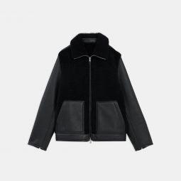 Stonem Jacket in Shearling