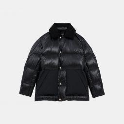 Leon Coat in Shiny Nylon
