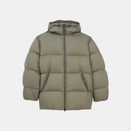 Quintin Re:Down Puffer Coat in Washed Nylon