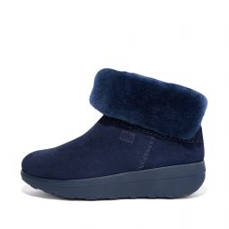 MUKLUK SHORTY Shearling-Lined Suede Ankle Boots