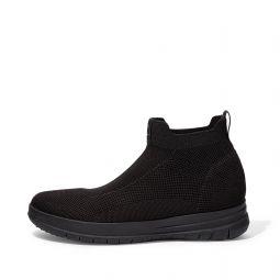UEBERKNIT Mens Water-Resistant Slip-On High-Top Sneakers
