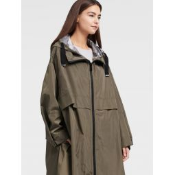 OVERSIZED HOODED RAINARACK