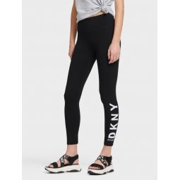 HIGH-WAIST LOGO LEGGING