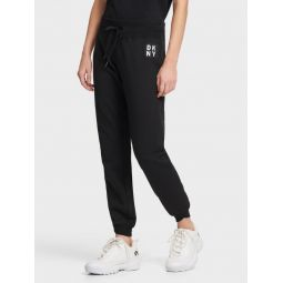 LOGO PATCH JOGGER WITH CUFF DETAIL