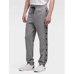 TAPED-LOGO SWEATPANT