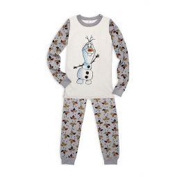 Disneys Frozen 2 Little Kids & Kids Olaf Cotton Pajama Set
