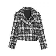 Slim Tweed Moto Jacket