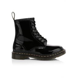1460 Patent Leather Combat Boots