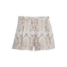 Ori Metallic Jacquard Shorts