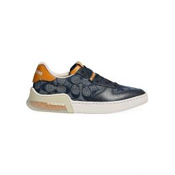 CitySole Signature Canvas, Suede & Leather Court Sneakers