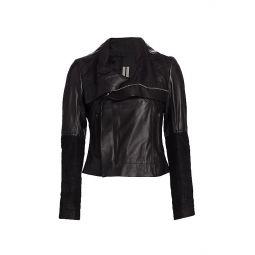 Larry Leather Biker Jacket