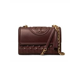 Fleming Convertible Leather Shoulder Bag