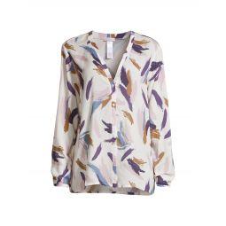 Woven Long-Sleeve Shirt