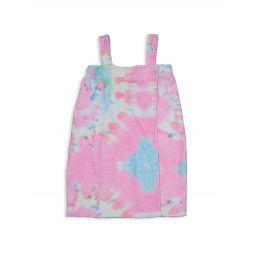 Girls Swirl Tie-Dye Spa Wrap