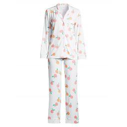 Sweet Peach 2-Piece Pajama Set