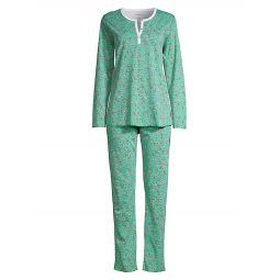 Buddies 2-Piece Long Pajama Set