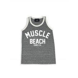 Little Boys & Boys Muscle Beach Tank Top