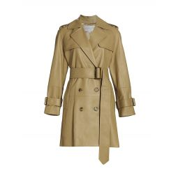Gail Flared Trench Coat