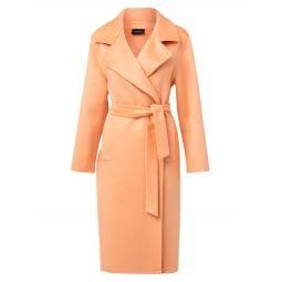 Belted Cashmere Midi-Coat