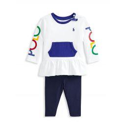 Baby Girls Logo Top & Leggings Set
